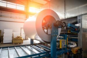 Bobina de rolo de aço galvanizado industrial