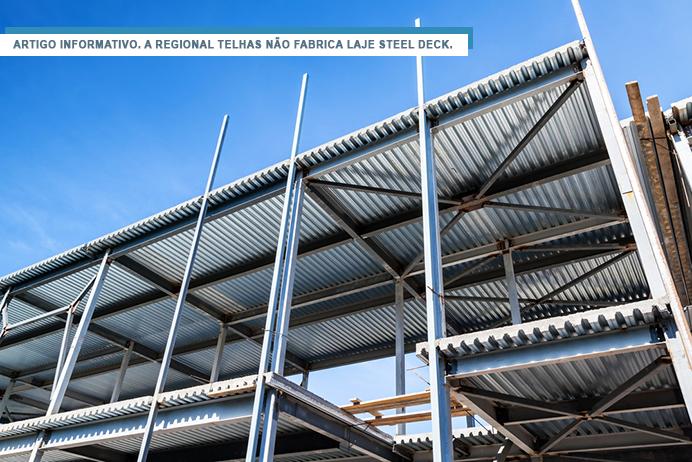 Tudo o que você precisa saber sobre laje steel deck