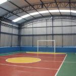 Como devem ser planejados telhados para quadras esportivas? Veja!