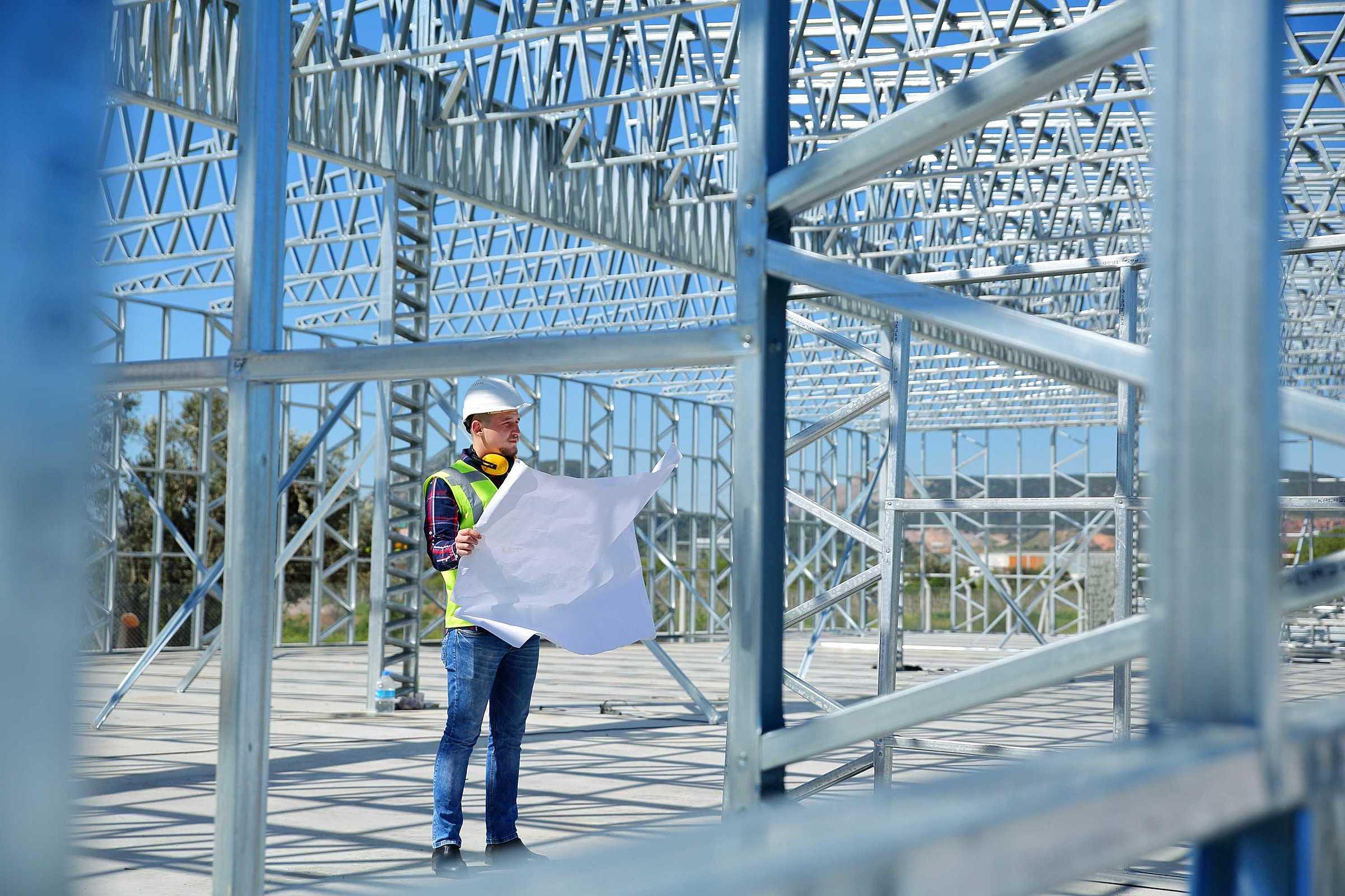 6 cuidados essenciais em um projeto de estrutura metálica!