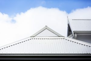 telha de casa de telhas perfuradas