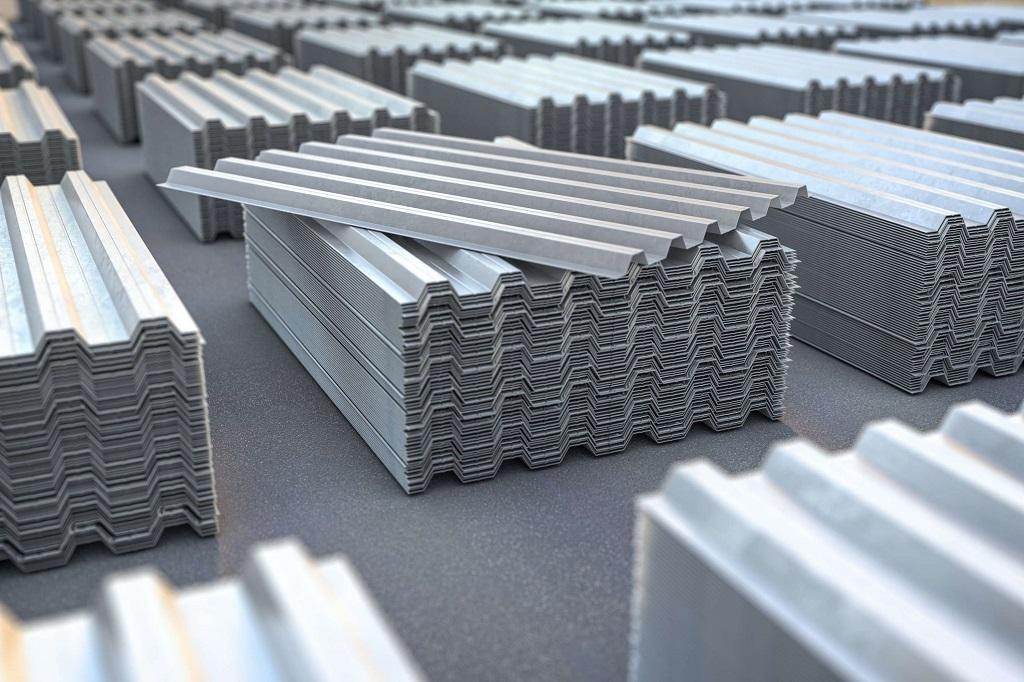 depósito de telha galvanizada