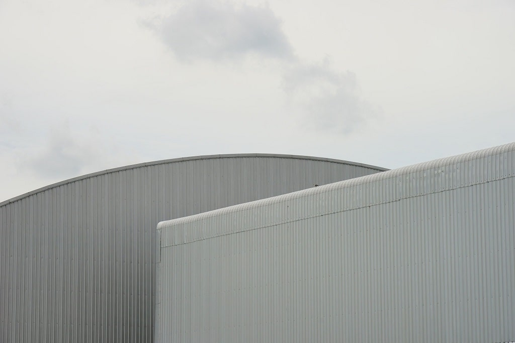 fechamento lateral com telha trapezoidal
