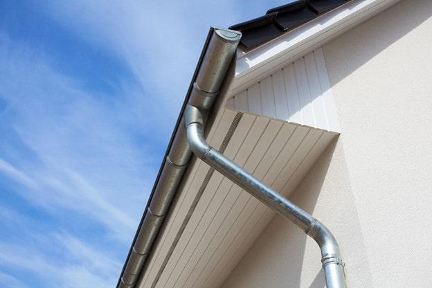 sistema de drenagem de telhados